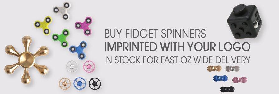 Fidget Spinners & Cubes