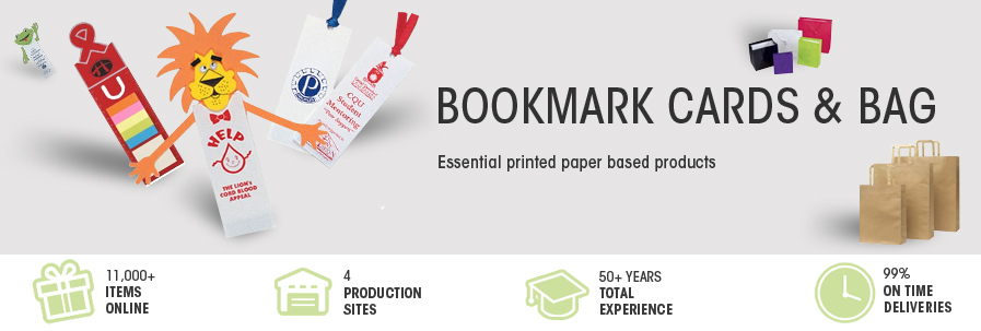 Paper Bags Bookmarks Cards