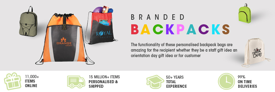 Branded BackPacks