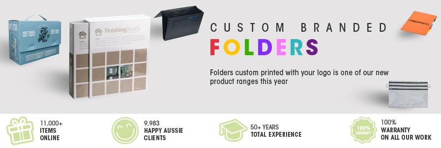 Custom Branded Folders