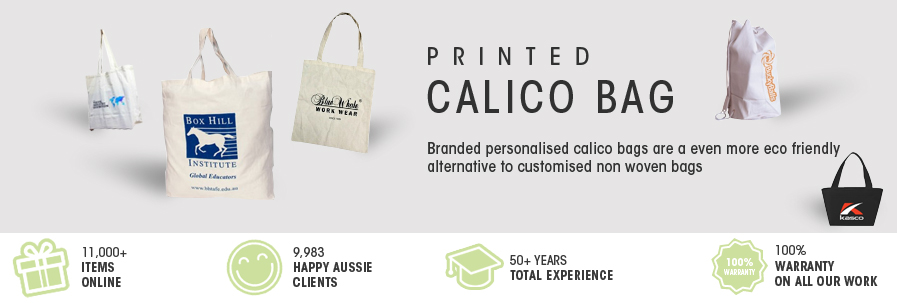 Printed Calico bag