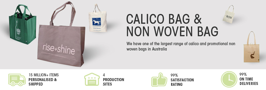 Calico bag & Non woven bag