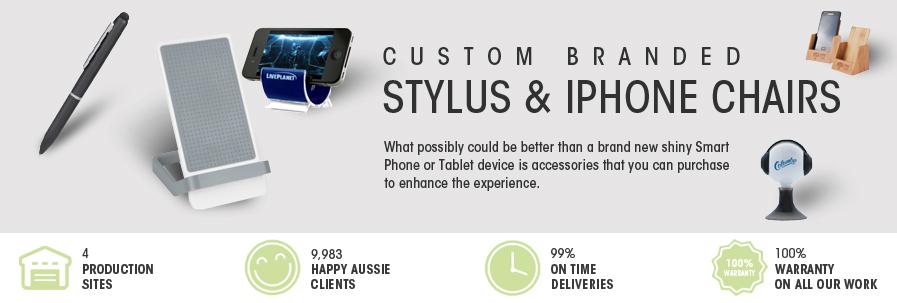 Stylus Pens & Phone Chairs