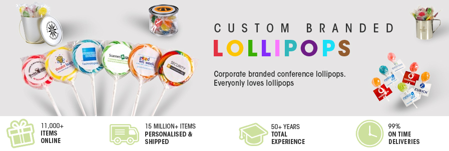 Lollipops (branded lollies)