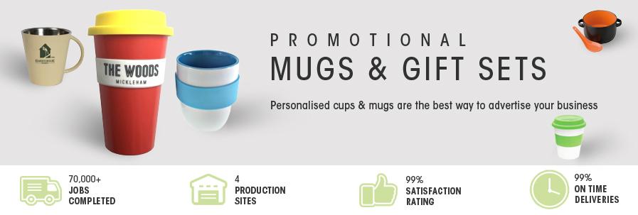 Printed Mugs + gift sets