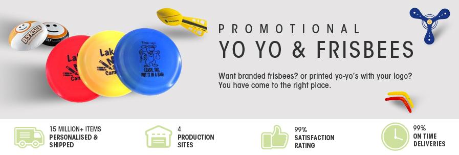 Yo Yo & Frisbees