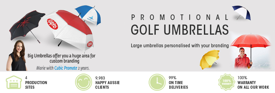 036aa9ae6 Buy Bulk Promotional Golf Umbrellas | Australia Online