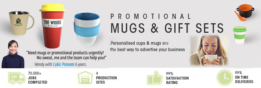 Printed Mugs + gift sets