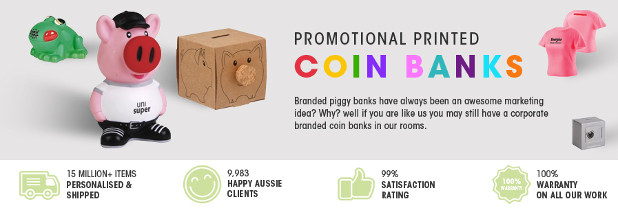 Printed Coin Banks