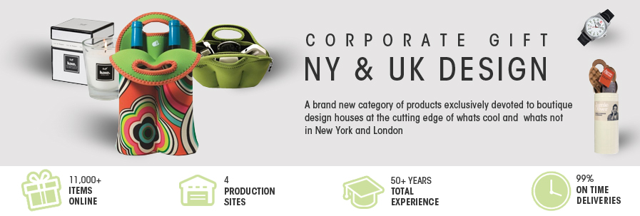 Corporate Gifts NY & UK Design