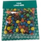 50g Bags of M&Ms with Logo Printed Cards