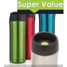 Anodized Coloured Travel Mugs