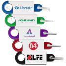 Custom Branded Spring Clip Key Chain