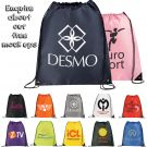 Basic Large Drawstring Cinch Backpack