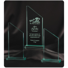 Corporate trophies Glass