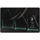 Corporate Award Trophies Glass
