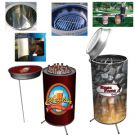 Can Cooler and Grill Set