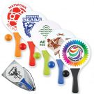 Colourful Branded Paddle Ball Set