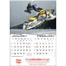 Custom Branded Wall Calendar Extreme Sports