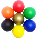 Custom Printed Stress Ball - Sea Freight