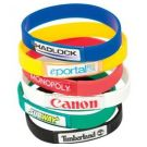 Dome Printed Silicone Bands