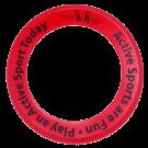 Promotional Donut Frisbee