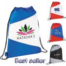 Flag Drawstring Backpack
