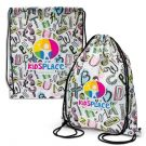 Full Colour Printed Event Backsacks