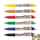 Hermes Plastic Promo Pen With Banner