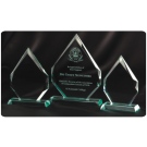 Customised Corporate Trophy Glass
