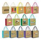 Laminated jute Bags Coloured