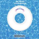 Large Customised Inflatable Swim Rings