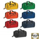 Large Polyester Promotional Duffle Bag