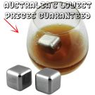 Liquid Filled Ice Cubes Stainless Steel