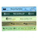 Echo Rule Recycled Plastic Ruler 30cm Branded