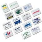 White Rectangular Erasers