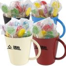 Promotional Lollypops in a Coffee Cup