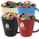 Assortment of Jelly Beans in a Cup