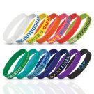 Music Festival Wristbands Logo Debossed