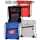 Nylon Tech Travel Drawstring Bag