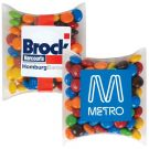 Personalised M&Ms in Pillow Packs