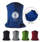 Promotional Cooling Gaiter With Filter Pouch