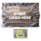 Recycled PET Lens Cloths Logo Printed