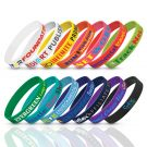 Rubberised Wristbands Indent