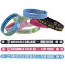 Slim Rubber Branded Wristbands