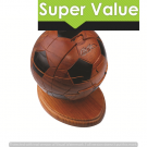 Soccerball wooden puzzle