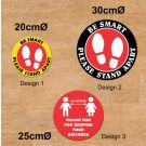 Stock Design Bulk Floor Decals