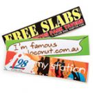 Fast Promotional Items Sticker med