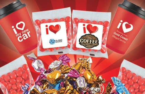 Discounted Set-Up on Select Confectionery for Valentine's Day