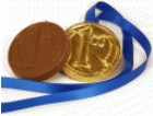Chocolate medal coin 0803